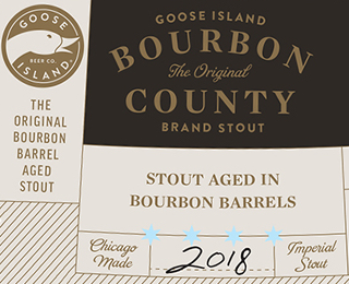 Goose Island Bourbon County Stout Release