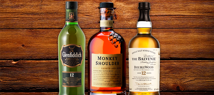 Glenfiddich, Monkey Shoulder & Balvenie Scotch Tasting