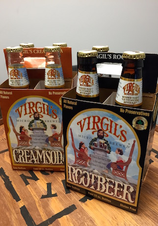 Virgil's Cream Soda and Root Beer