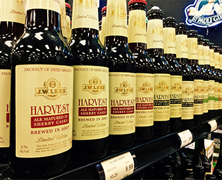 JW Lees Harvest Ale Series Sale