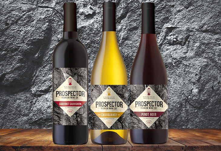 Prospector Wine Now Available!