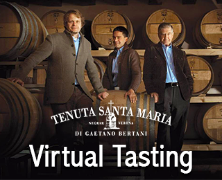 Free Virtual Tasting with Winemaker Giovanni Bertani