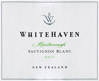 Whitehaven Marlborough Sauvignon Blanc 2017