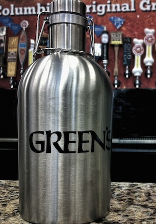 Green's 64oz Stainless Steel Growlers